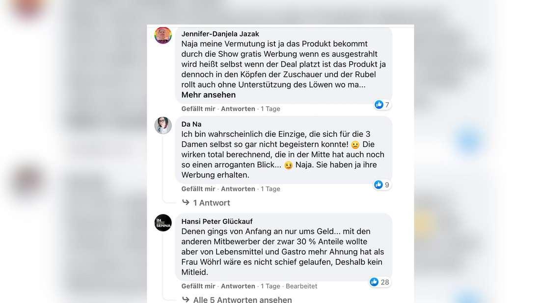 """Nach """"Die Höhle der Löwen"""" platzte der Deal zwischen Osmans Töchter und Dagmar Wöhlr. Fans meinen: Die Gründerinnen wollten nur Werbung."""