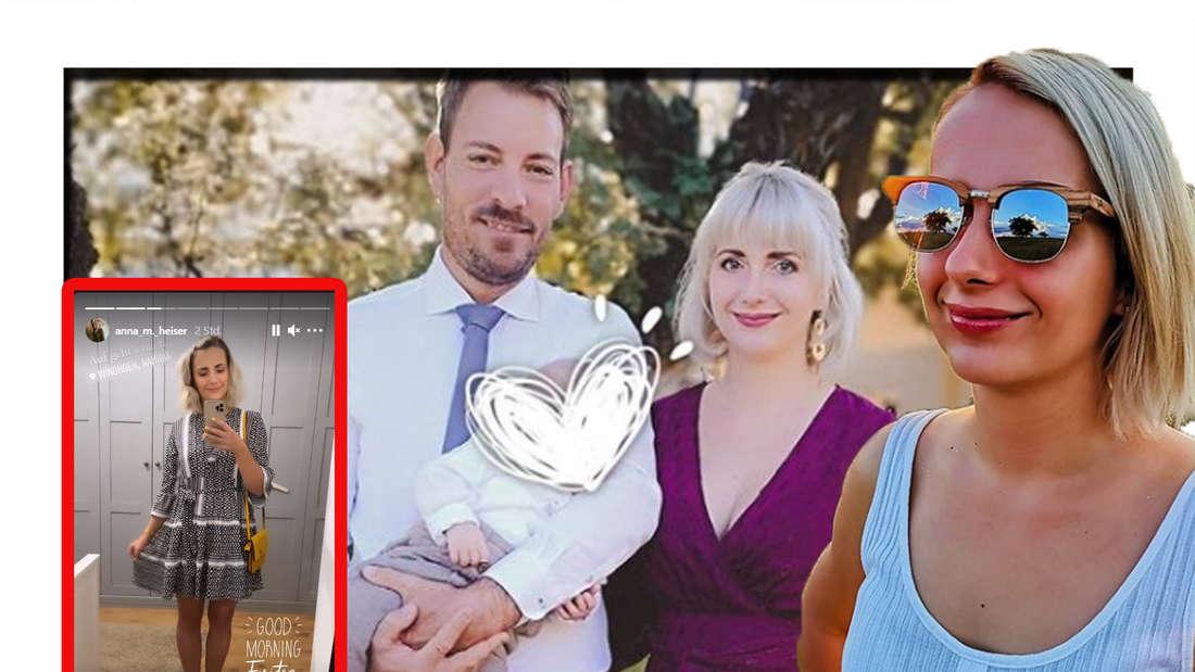 Anna Heiser nach Geburt total schlank: Erstes Date nach Monaten mit Gerald (Fotomontage)