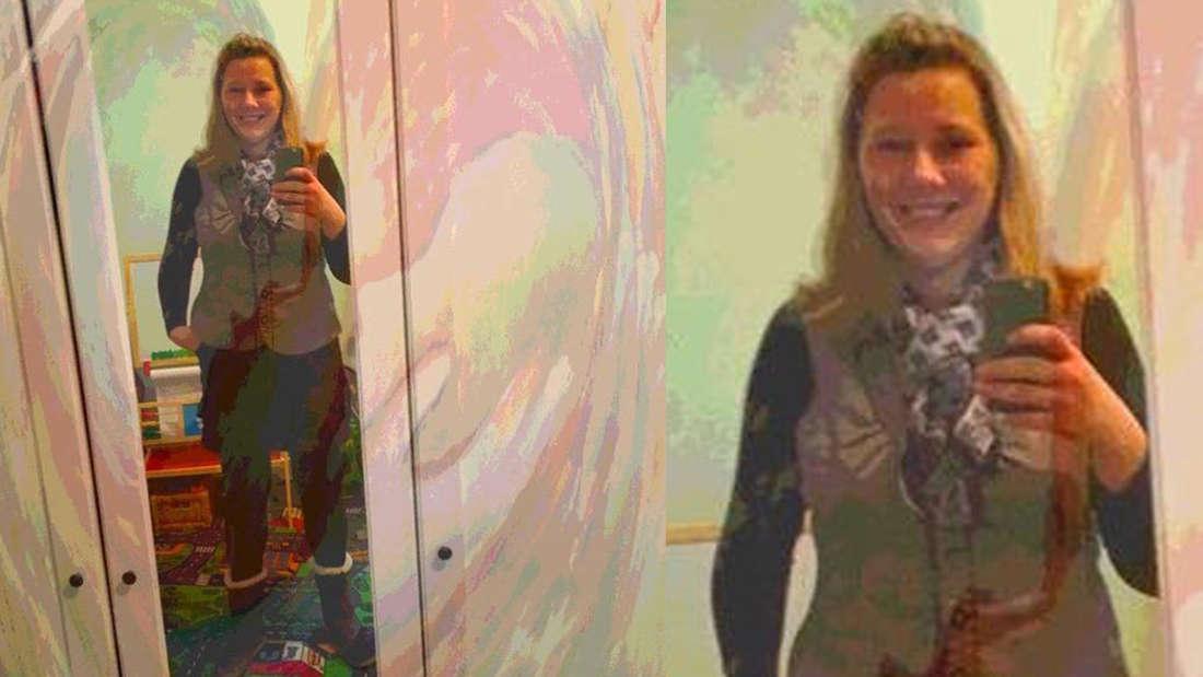 Tochter Jessica lächelt glücklich in die Kamera