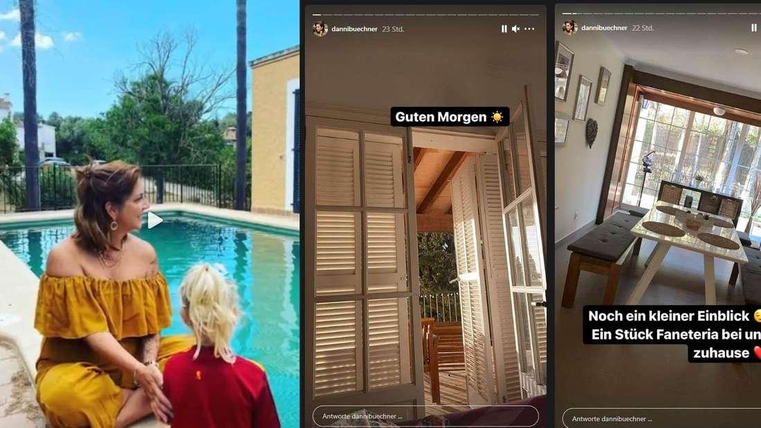Die Luxus-Finca von Danni Büchner steht im Internet für 750.000 Euro zum Verkauf, obwohl die fünffache Mutter erst vor Monaten einzog.