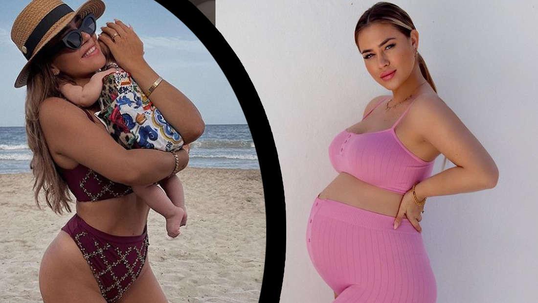 """""""Ultra bearbeitet"""": Fans diskutieren After Baby Body im Bikini von Jessica Paszka"""