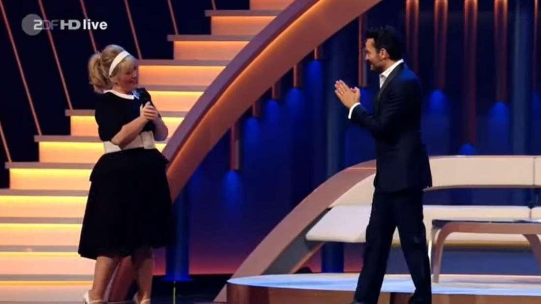 Giovanni Zarella Show: Was zwar bloß mit Maite Kelly los?
