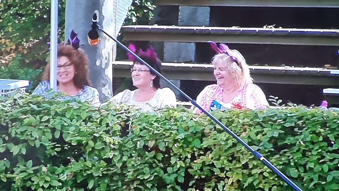 Diese drei Damen sorgten für etliche Lacher im ZDF-Fernsehgarten
