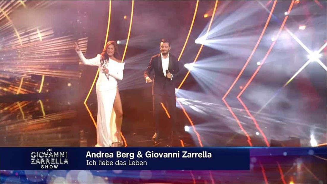Giovanni Zarrella Show: Ungewöhnlicher Auftritt von Andrea Berg überrascht Zuschauer