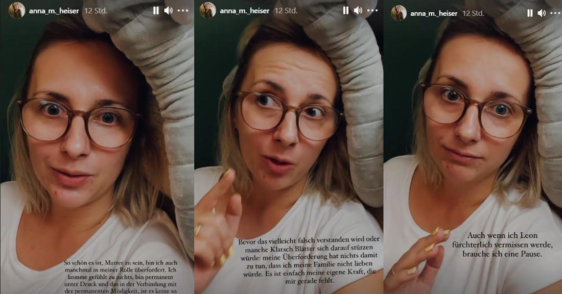Anna Heiser schreckt trotz Kritik nicht davor zurück, erneut auf Instagram ein Tabuthema anzusprechen.