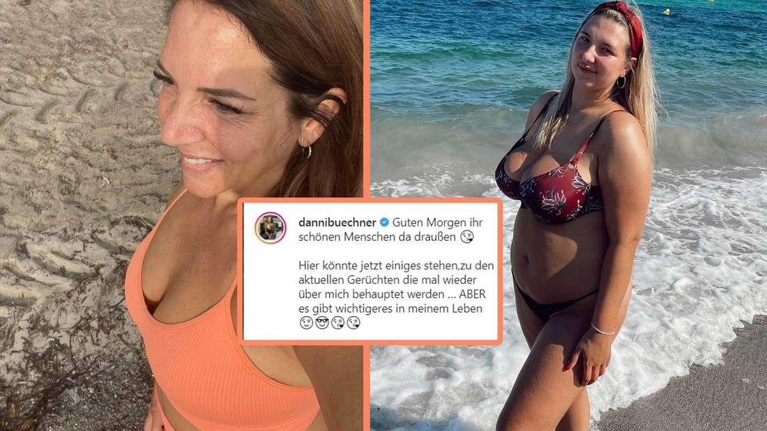 Danni Büchner lässt ihrem Frust bei Instagram wegen neuen Gerüchten freien Lauf. Sofort bekommt sie von ihrer Tochter Joelina Applaus.
