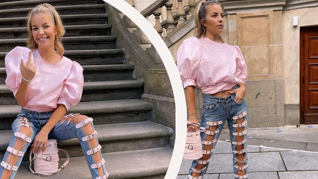 """""""War bei Pimkie gerade ausverkauf"""": Fan spottet über Designer-Jeans von Ina Aogo"""