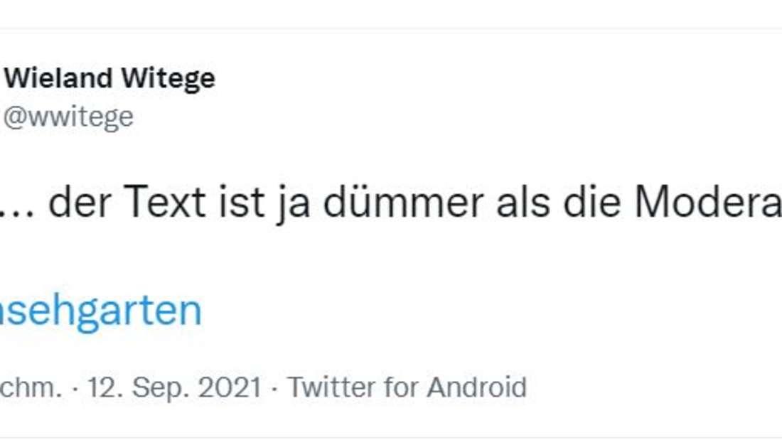 """""""Songtext dümmer als Moderation"""": Twitter demütigt Karsten Walter"""