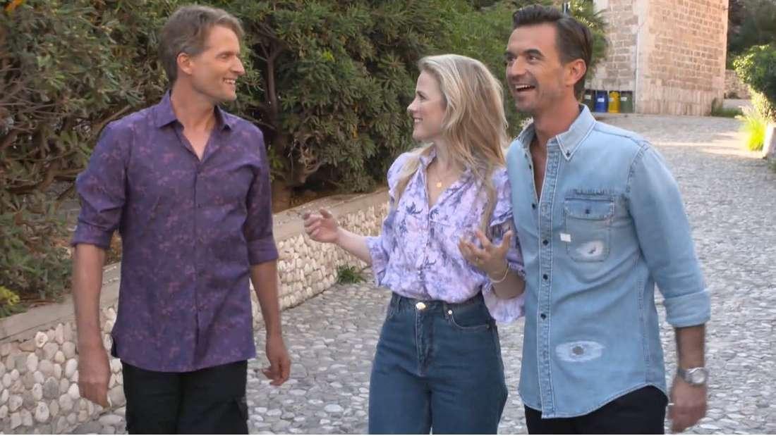 Florian Silbereisen mit Ilse DeLange und Toby Gad