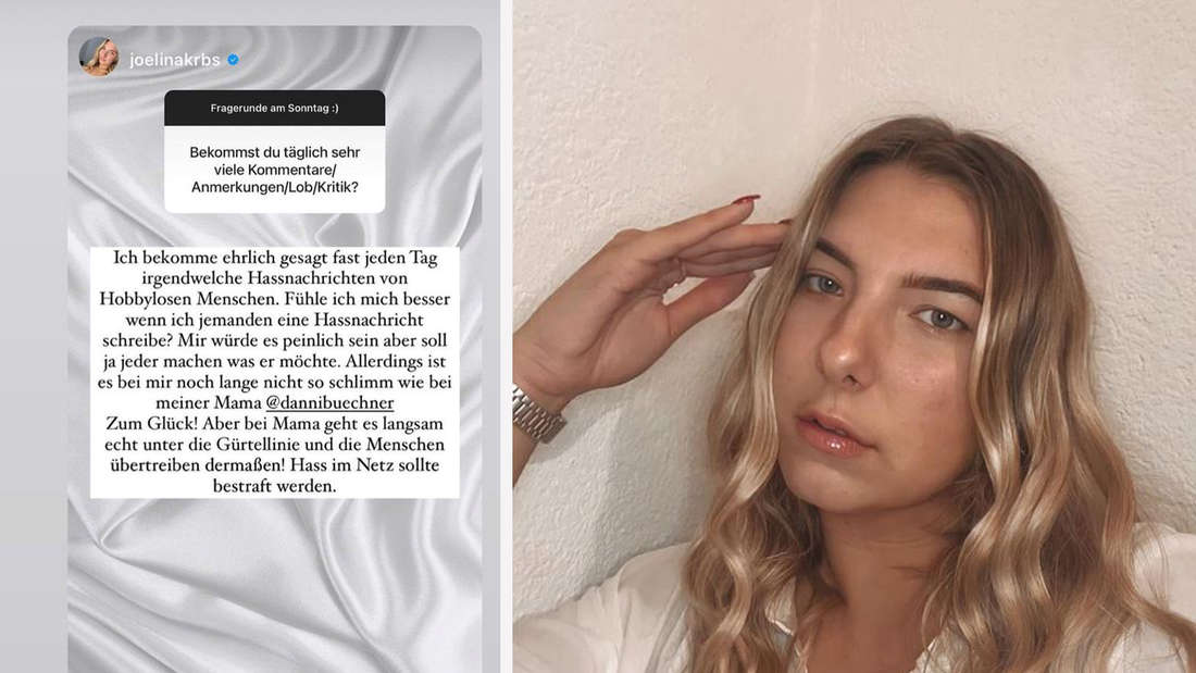 Joelina teilt bei Instagram gegen ihre Hater aus