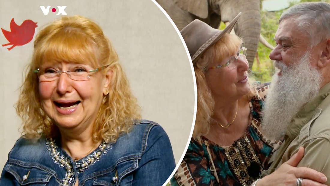 """Nachdem man Karin mit Werner bei """"Bauer sucht Frau"""" sah, ist sie nun zuletzt bei """"First Dates"""" zu sehen. (Fotomontage)"""
