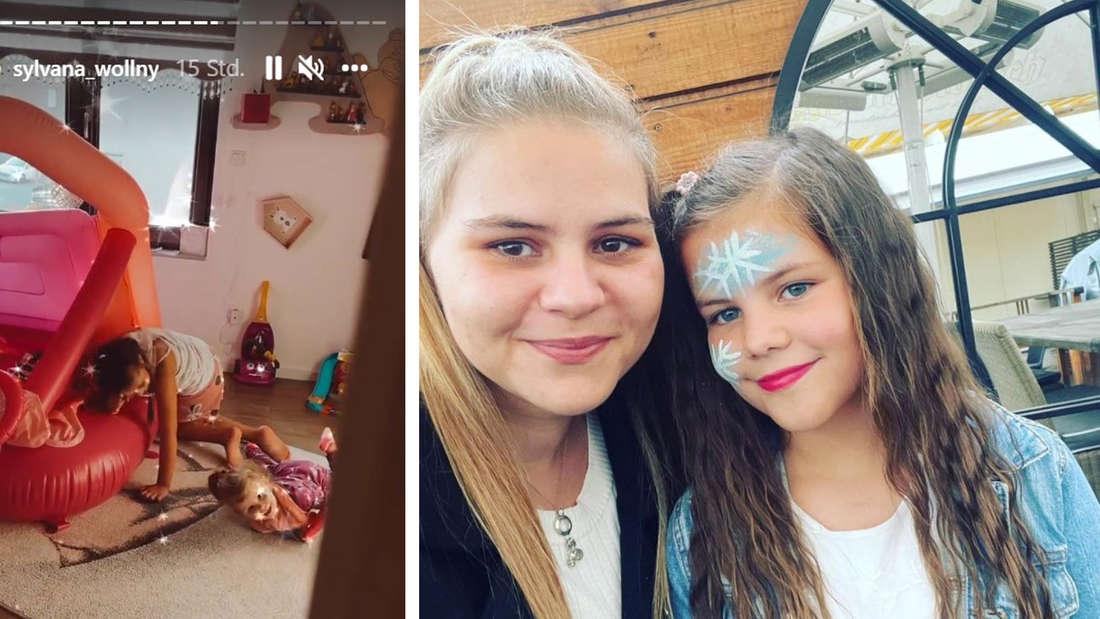 Sylvana Wollny und ihre Töchter Celina-Sophie und Anastasia-Sophie