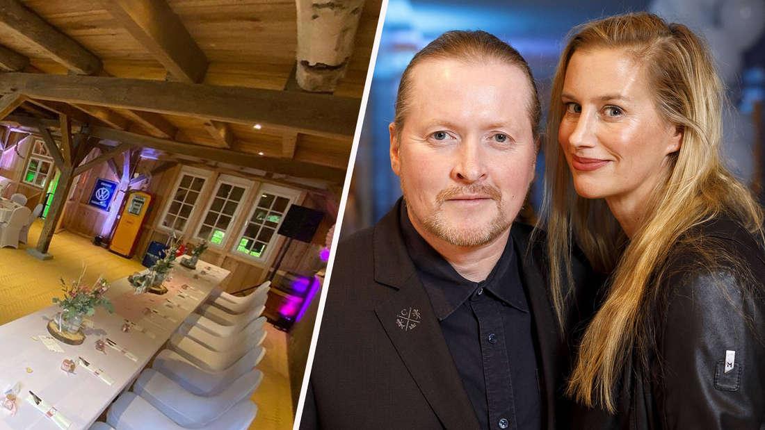 Joey Kelly mit Ehefrau Tanja Niethen-Kelly bei der 12. Dorint Charity Sports Night 2018 im Dorint Hotel an der Messe in Deutz. Köln, 02.12.2018. Tanja Kelly postet die Hochzeitslocations auf Instagram. (Fotomontage)