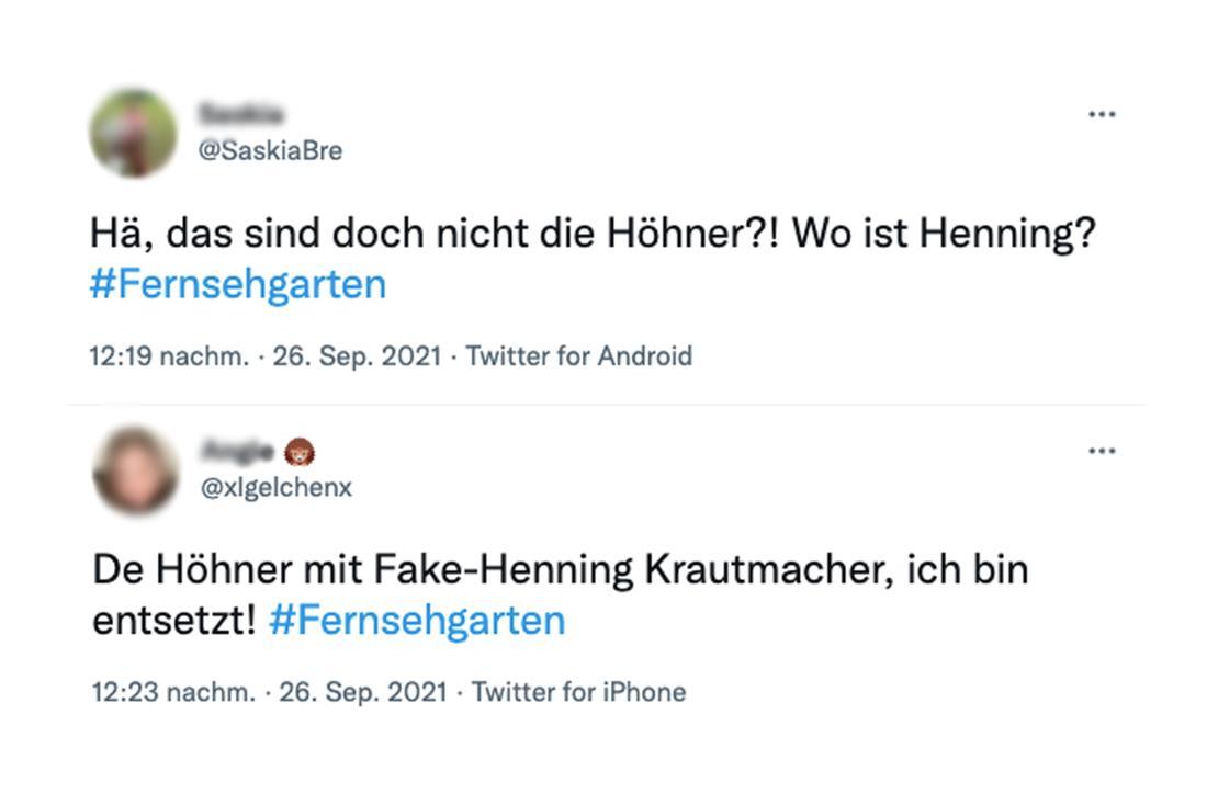 Twitter-Kommentare zum ZDF-Fernsehgarten: Höhner-Frontmann Henning Krautmacher fehlt