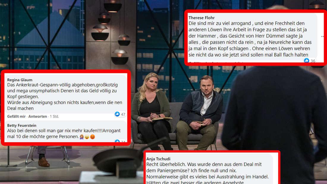 """""""Viel zu arrogant"""": Zuschauer regen sich nach DHDL über Ankerkraut-Gründer auf"""