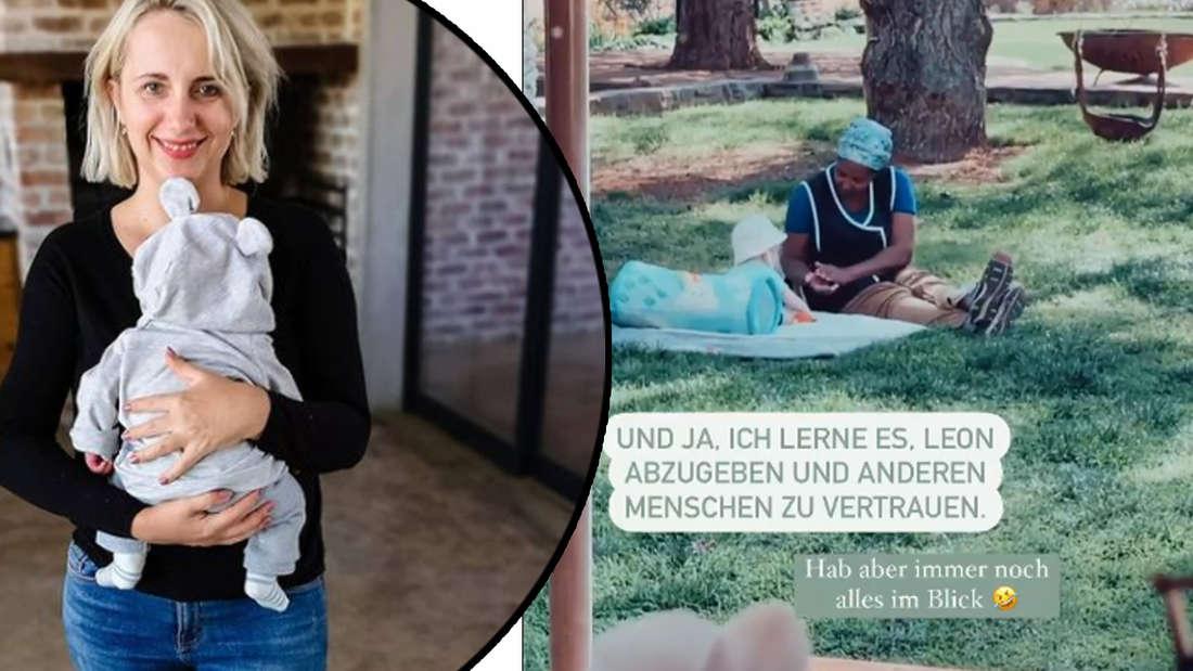 """""""Lerne es, Leon abzugeben"""": Anna Heiser engagiert Nanny für Söhnchen Leon"""