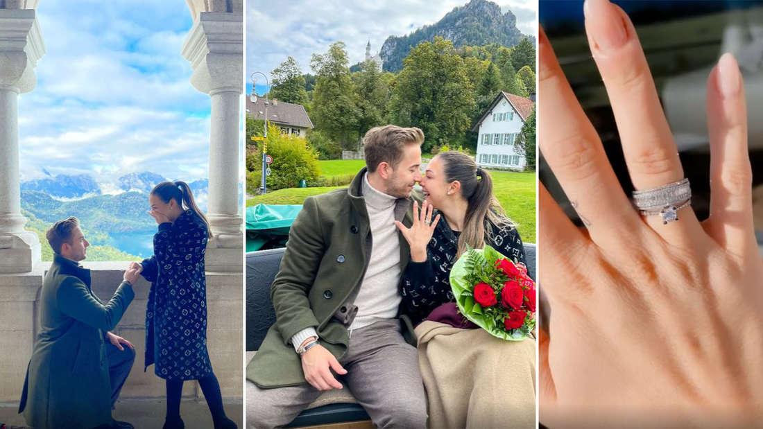 Drei Bilder von Katharinas Verlobung