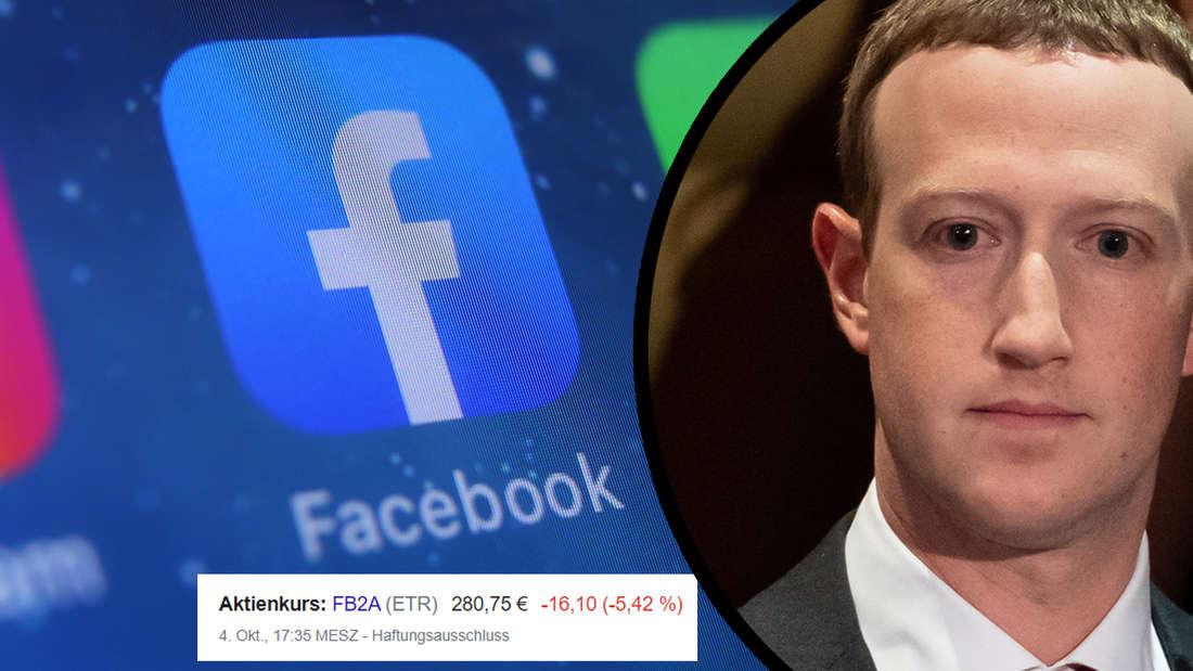 Fast 7 Stunden Facebook-Ausfall: Mark Zuckerberg verliert 7 Milliarden
