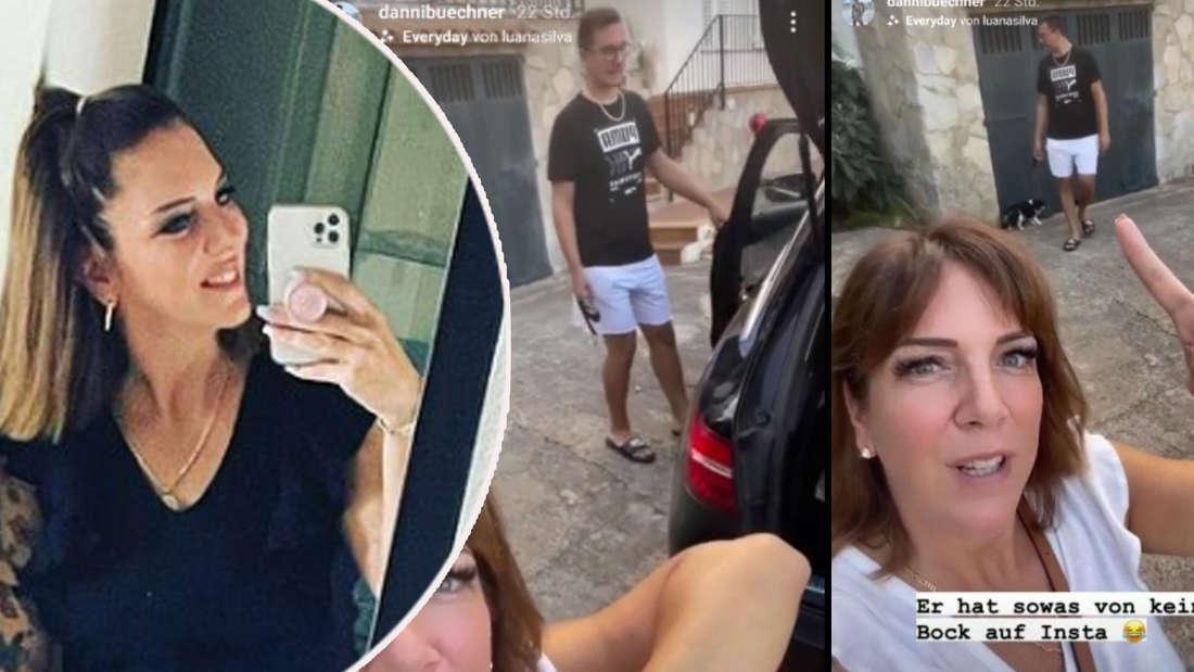 Danni Büchners Sohn hat keine Lust auf Instagram - sie filmt ihn trotzdem