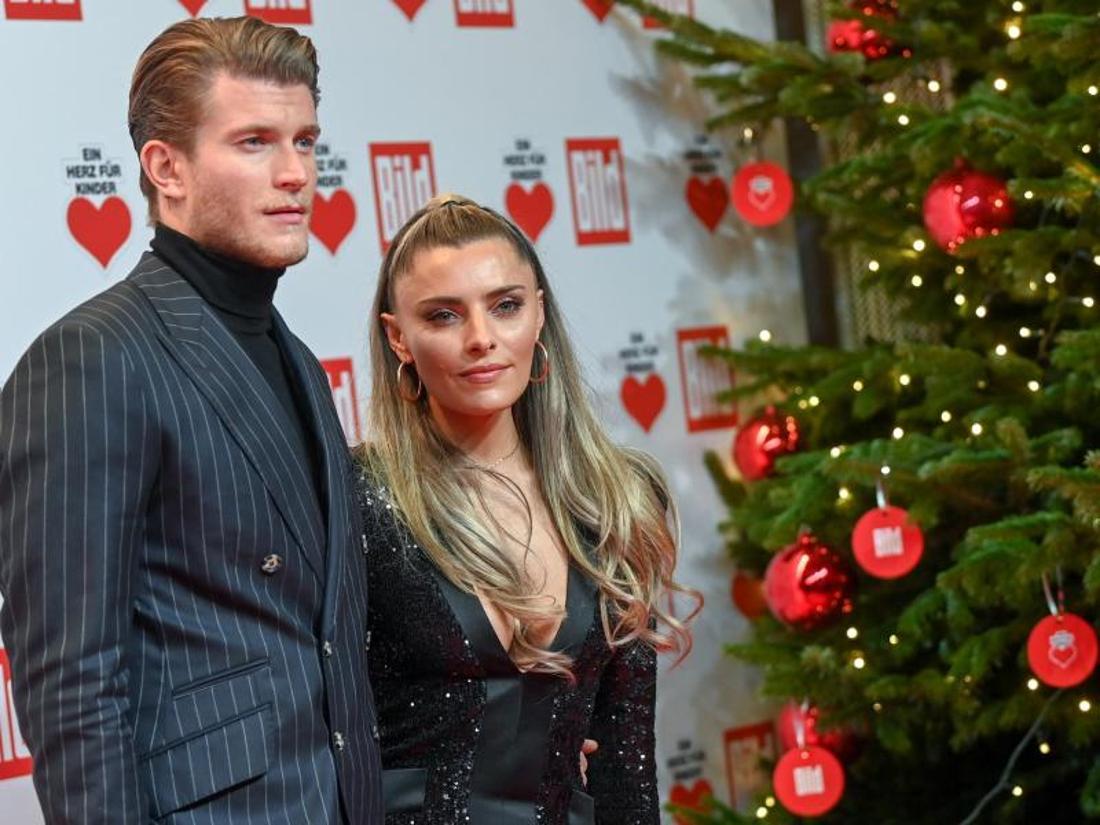 Loris Karius + Sophia Thomalla