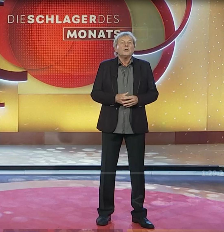 """Bernhard Brink moderiert """"Die Schlager des Monats"""""""