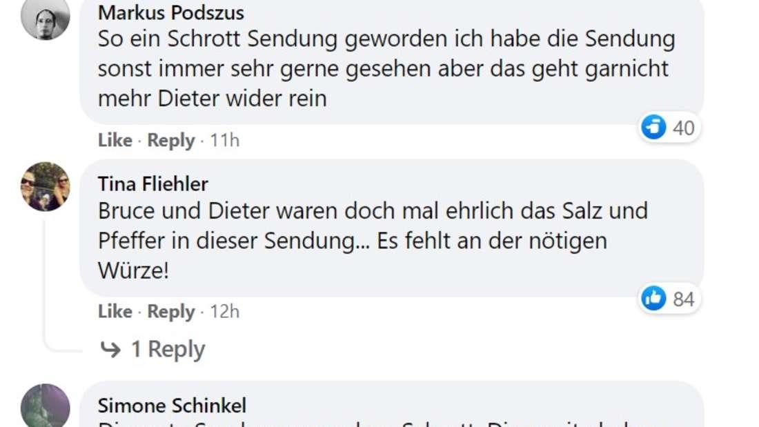 """Facebook Kommentare zur neuen Staffel """"Das Supertalent"""""""